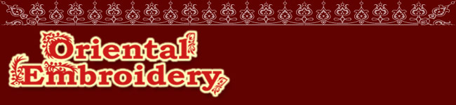 Oriental-embroidery store for embroidery designs
