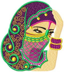 Arabic Beauty 001 embroidery designs