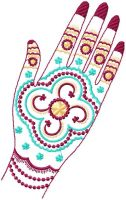 Indian Henna Ornaments Set