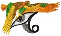 Horus Eye embroidery designs 006