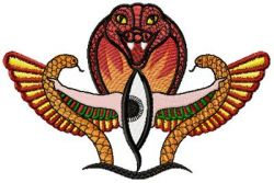 Horus Eye embroidery designs 009