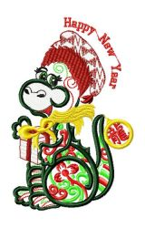 Funny Chinese Zodiac 009 ― Oriental-embroidery store for embroidery designs