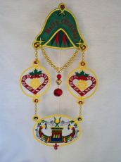 Pharaonic Christmas Decoration embroidery design