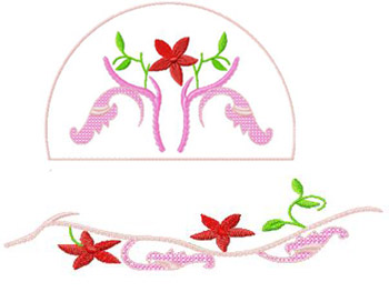Caps & Belts011 embroidery design