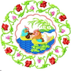 Chineseornament002 embroidery design