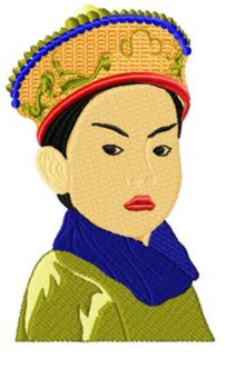 Chinesekids009 embroidery design