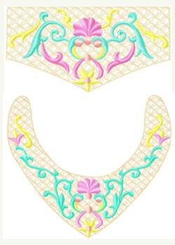 Necklace&Bracelet001 embroidery design