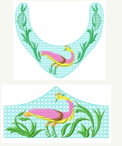 Necklace&Bracelet008 embroidery design