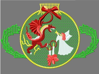Santainchina001 embroidery design