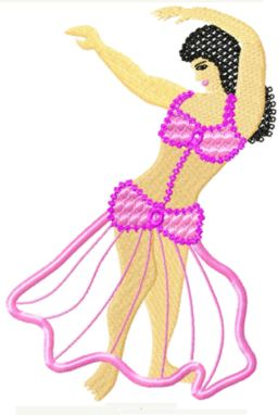 appliquebellydance006 embroidery design