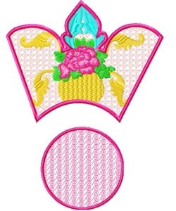 bowl006 embroidery design