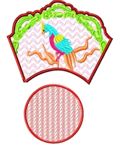 bowl007 embroidery design