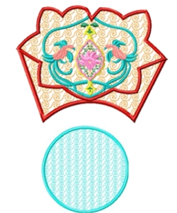 bowl008 embroidery design