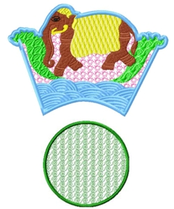 bowl009 embroidery design