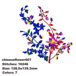 Chinese Flower 007