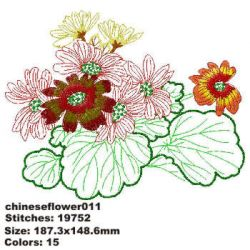 Chinese Flower 011
