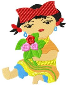 Chinesekids006 embroidery design