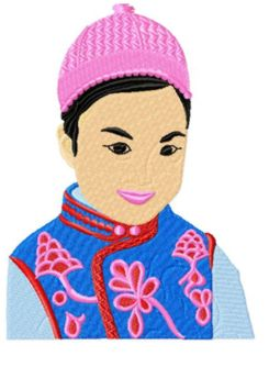 Chinesekids007 embroidery design