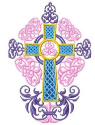 Oriental Crosses004 embroidery design