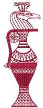 Egyptian Ornament embroidery design