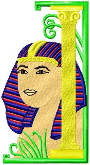 egyptianscenes016 embroidery design
