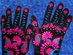 Velvet Party Gloves