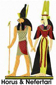 egyptianscenes set 1 embroidery design