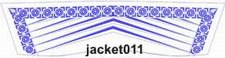 Jacket011 embroidery design