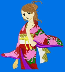 japaneseanime003 embroidery design