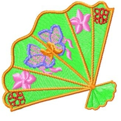 japanesefans embroidery design
