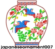 japaneseornament set