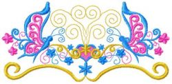 oriental Ribbon 010 embroidery designs