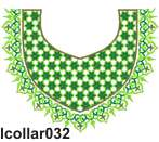 lcollar032 embroidery design