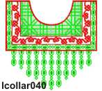 lcollar040 embroidery design