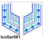 lcollar061 embroidery design