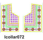 lcollar072 embroidery design