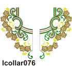 lcollar076 embroidery design
