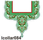 lcollar084 embroidery design