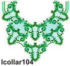 lcollar104 embroidery design