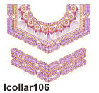 lcollar106 embroidery design