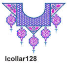 lcollar128 embroidery design