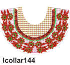 lcollar144 embroidery design