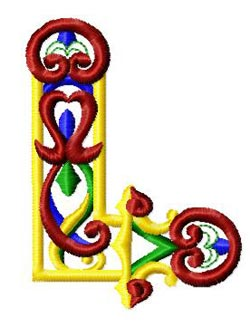 oletter0l embroidery design