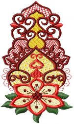 Arabic ornament embroidery designs 06