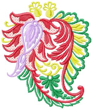 Ornament050 embroidery design