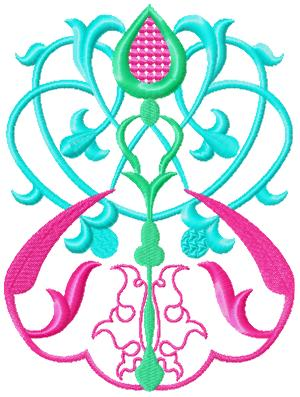 Ornament051 embroidery design