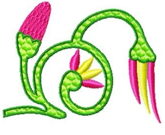 egyptianribbons001 embroidery design