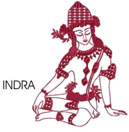 INDRA embroidery design