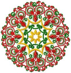 christmas ornament embroidery designs