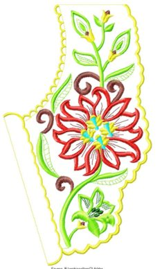 smallcollars020 embroidery design